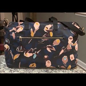 NWT Authentic Kate Spade large Weekender Bag